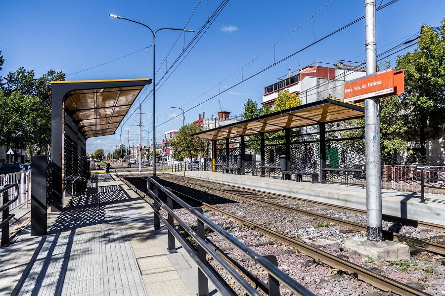 Estación Fátima renovada